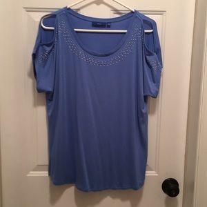 New Apt. 9 short sleeve, open shoulder shirt